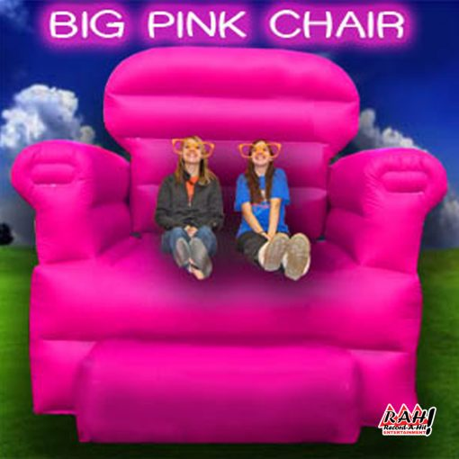 Lovely Big Pink Chair