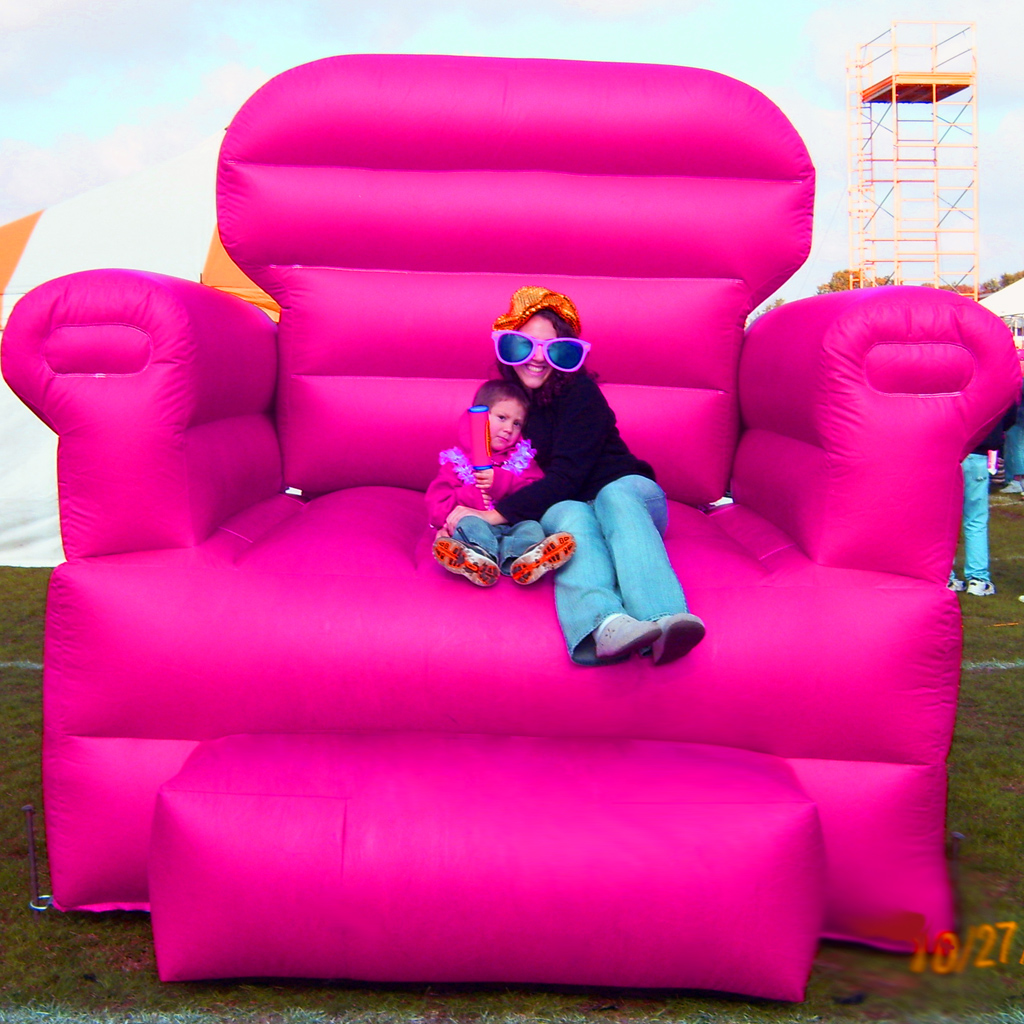 Big Pink Chair