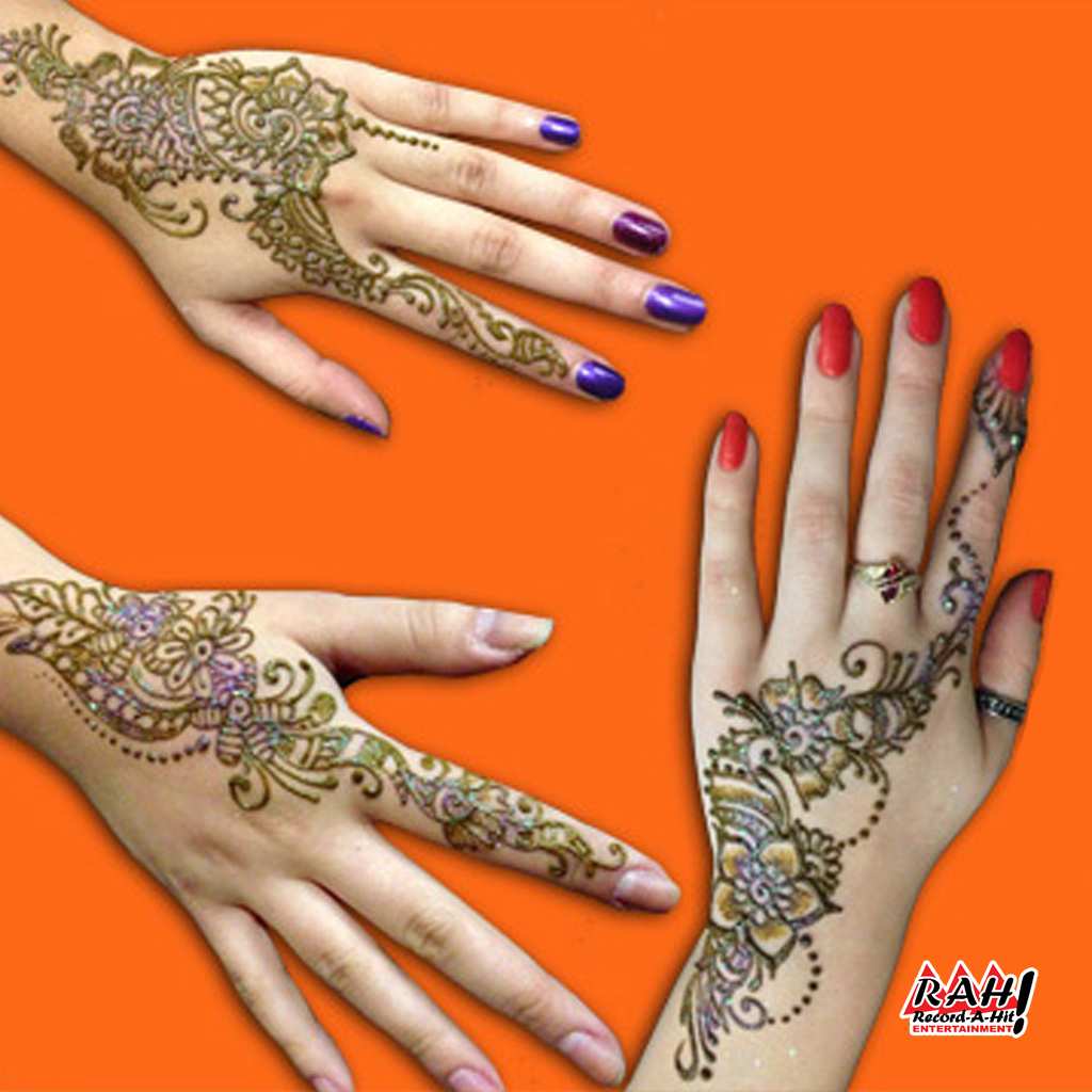 Henna Tattoo Artist - Record-A-Hit Entertainment Party Rental Equipment