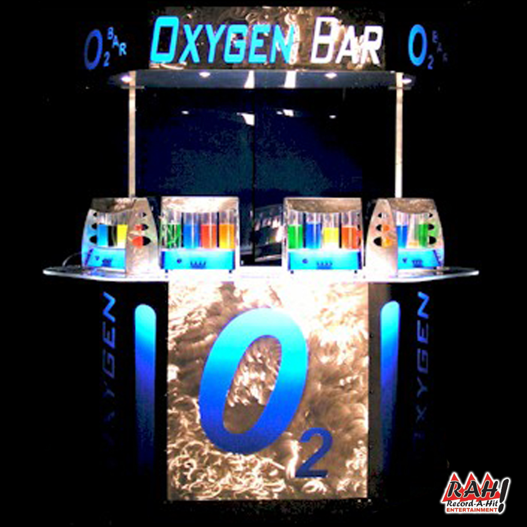 Oxygen Bar Record A Hit Entertainment Party Rental Equipment