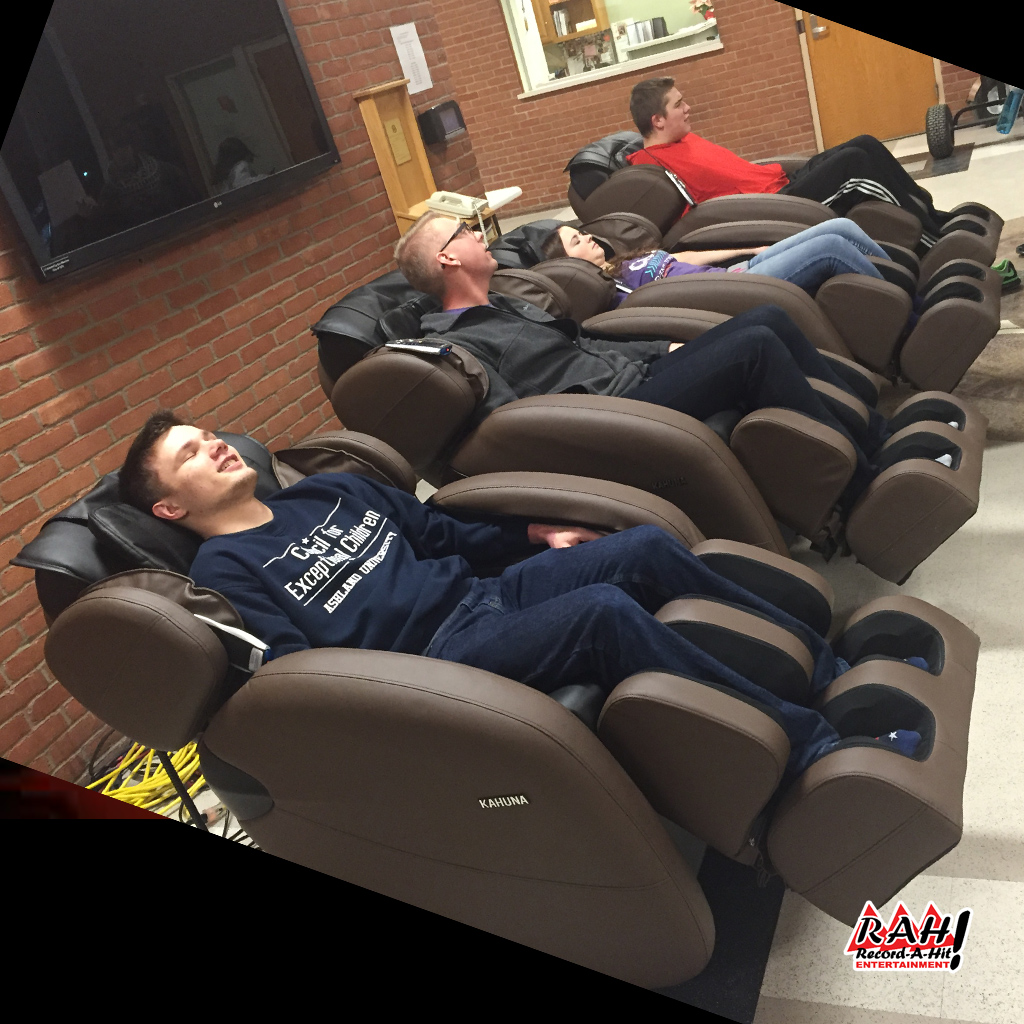 Massage Chairs Record A Hit Entertainment Party Rental