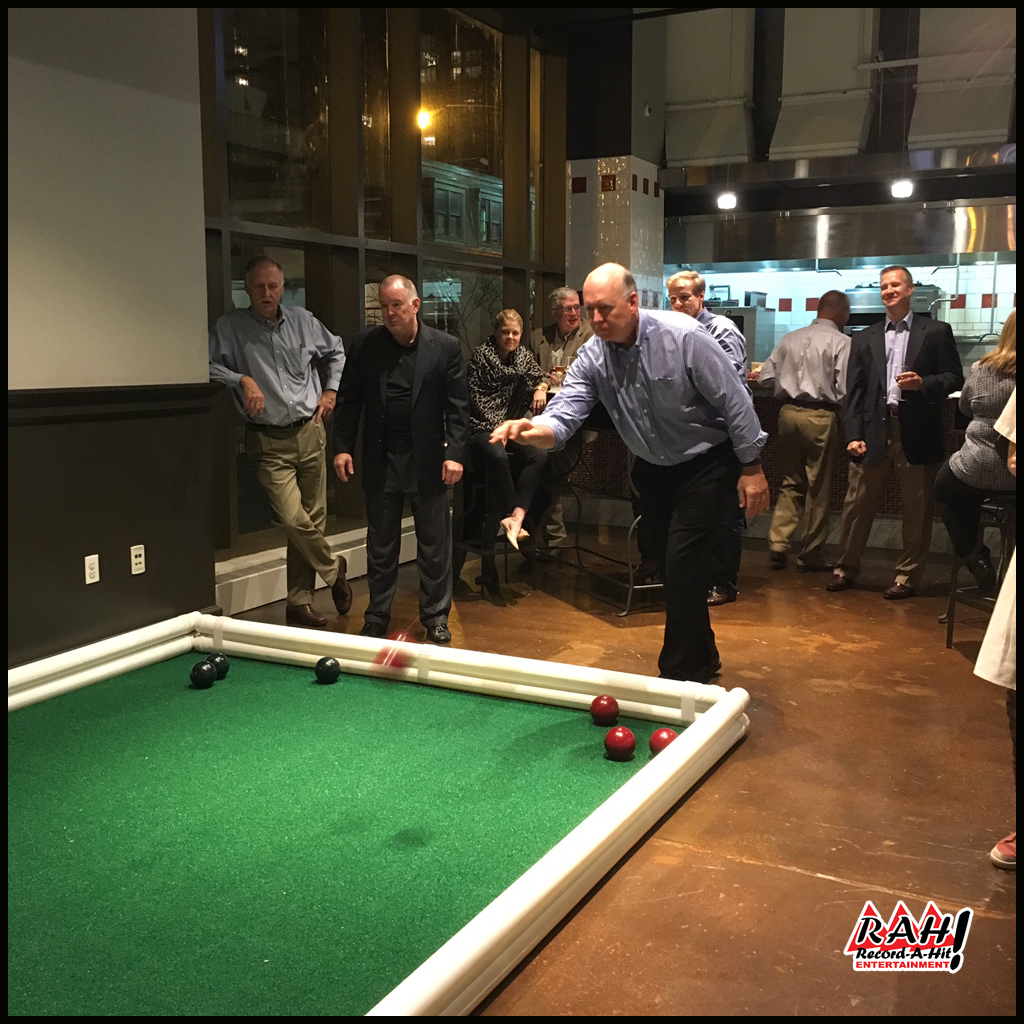 Bocce Ball Court - Record-A-Hit Entertainment Party Rental Equipment