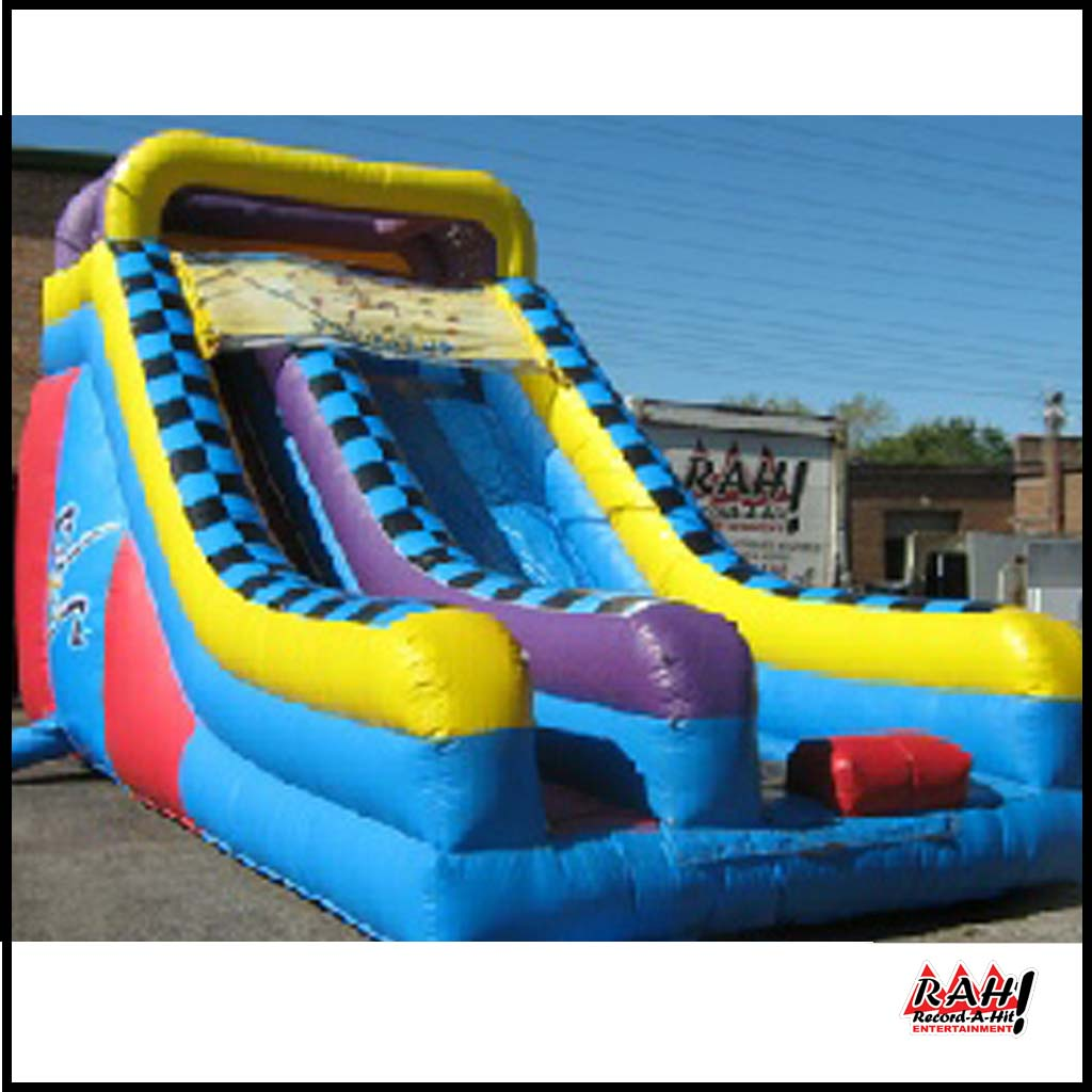 Inflatable Giant Slide: Record-A-Hit Entertainment Party