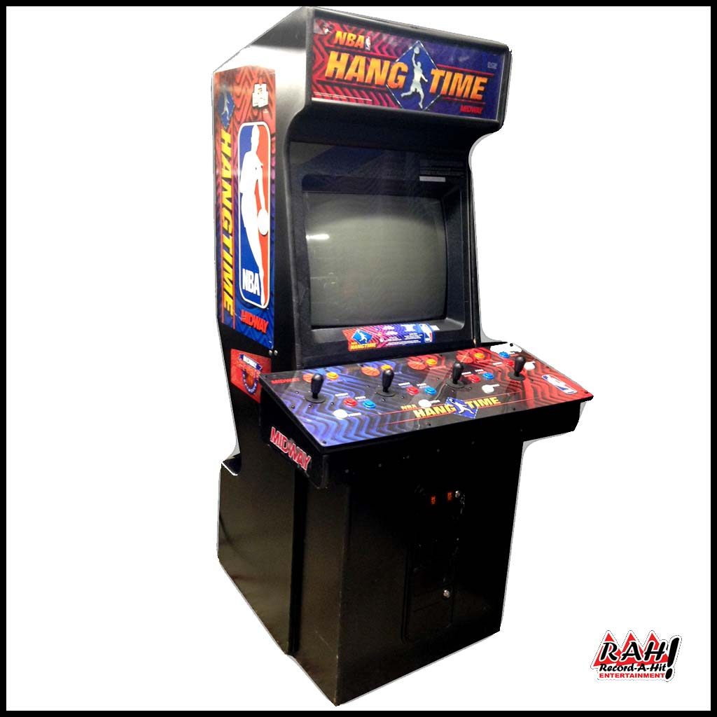 Nba Hangtime Basketball Video Arcade Game Record A Hit Entertainment Party Rental Equipment