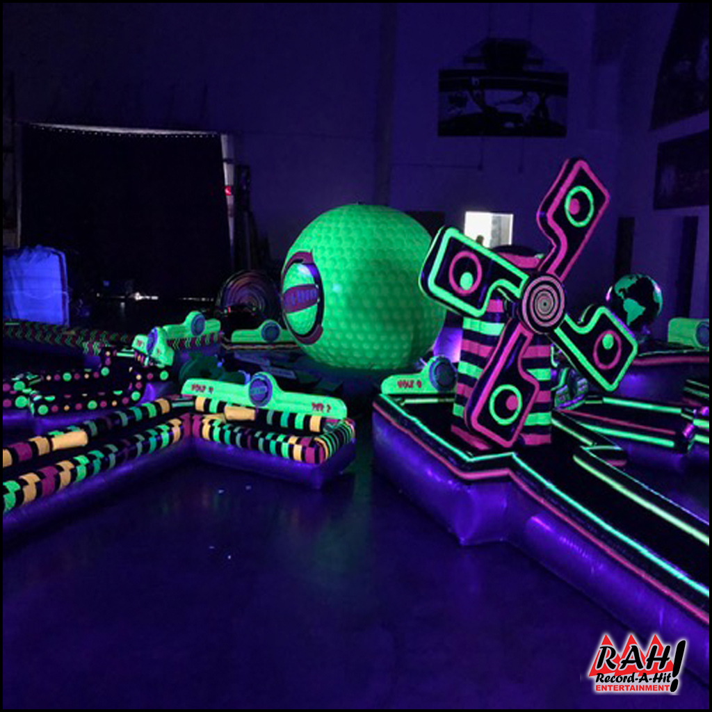 9-Hole Glow-in-the-Dark Mini-Golf